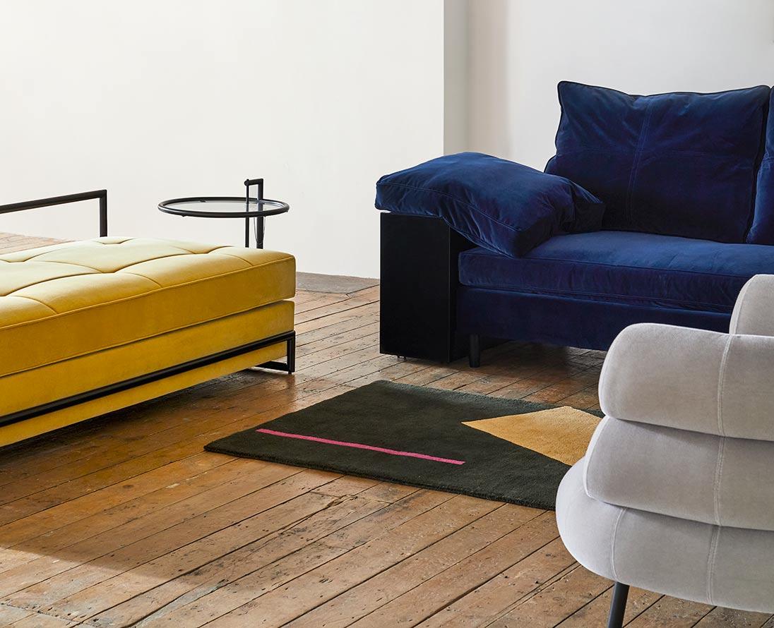 Eileen Gray Designs in Velvet