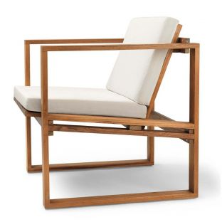 BK11 outdoor lounge chair by Bodil Kjaer for Carl Hansen and Son