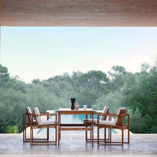 BK15 Outdoor Table by Bodil Kjaer for Carl Hansen and Son