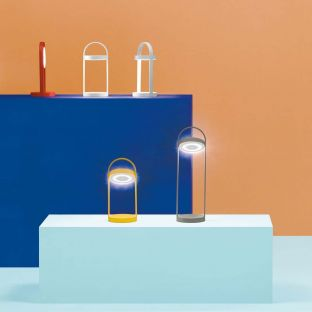 Giravolta rechargeable lamp by Pedrali