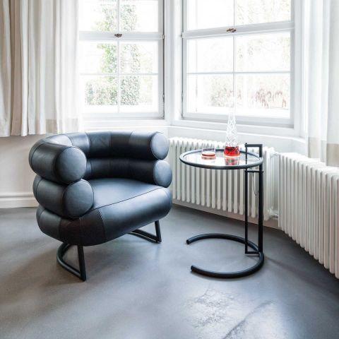 Eileen Gray Bibendum Chair - Black Base