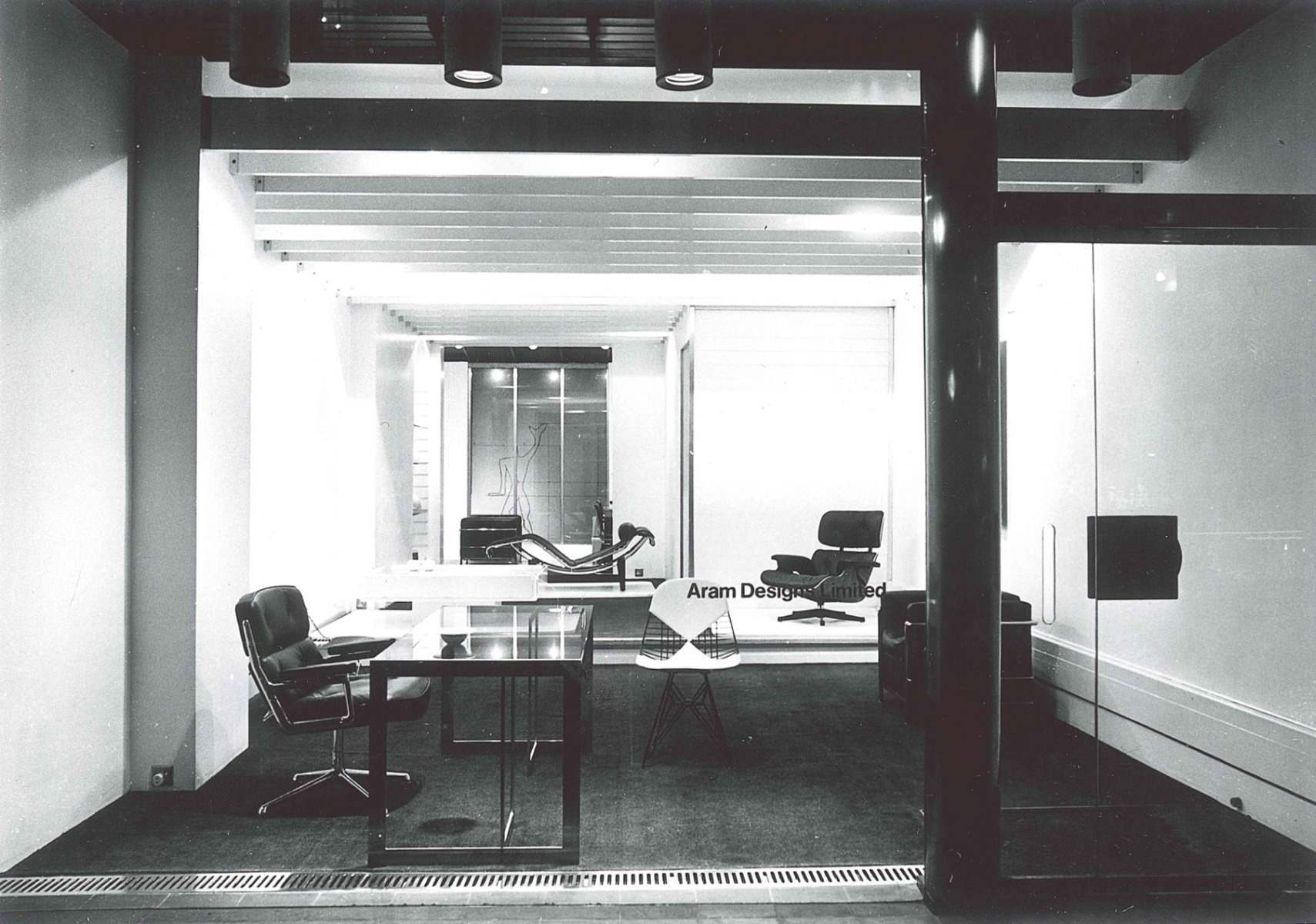 Aram Designs Limited - Showroom, Kings Road, London, 1964